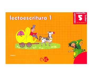 Imagen de Cuaderno de Lectoescritura 1 y 2 (Prep)