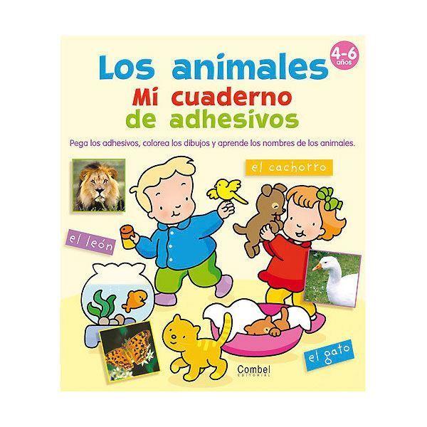 Imagen de Los animales. Mi cuaderno de adhesivos