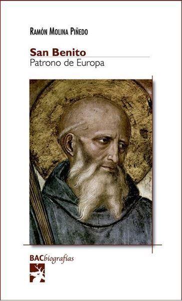 Imagen de San Benito. Patrono de Europa