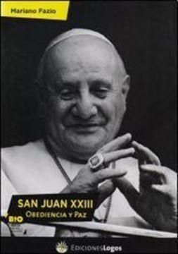 Imagen de San Juan XXIII: obediencia y paz