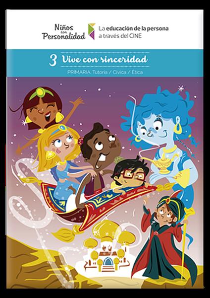 Imagen de Niños con Personalidad 3° - Vive con Sinceridad