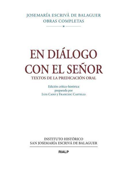 Imagen de El diálogo con el señor