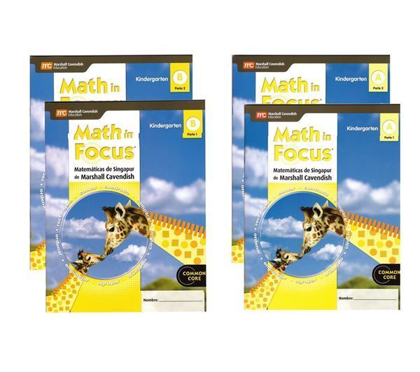 Imagen de MATH IN FOCUS A y B (ESP)