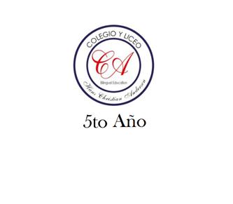 Imagen para la categoría PRIMARIA - 5°AÑO