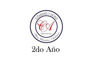 Imagen para la categoría SECUNDARIA - 2° AÑO