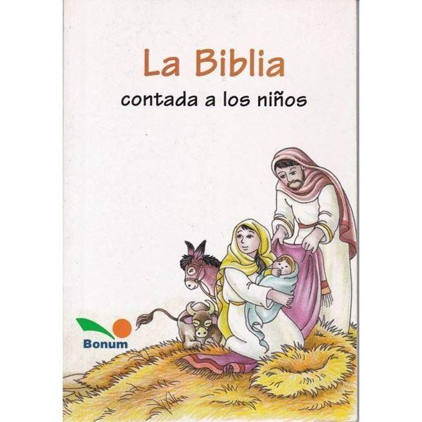 Imagen de LA BIBLIA CONTADA A LOS NIÑOS