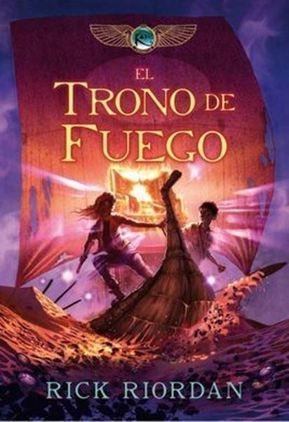 Imagen de EL TRONO DE FUEGO