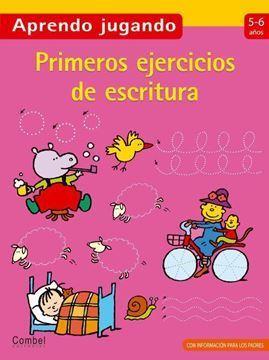 Imagen de PRIMEROS EJERCICIOS DE ESCRITURA 5-6 AÑOS
