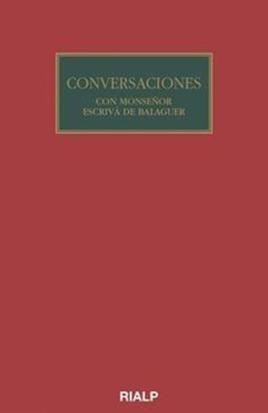 Imagen de conversaciones con mos. Escrivá de Balaguer