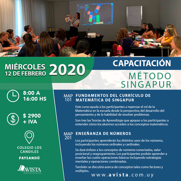 Imagen de Capacitación Método Singapur en Paysandú