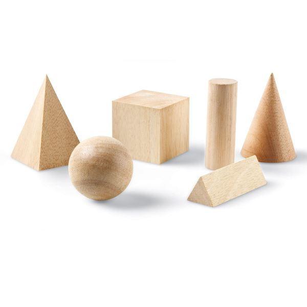 Imagen de Cuerpos Geométricos de Madera