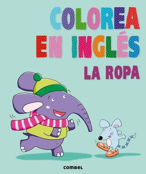 Imagen de Colorea en inglés. La ropa
