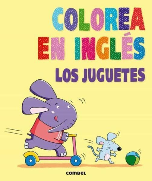 Imagen de Colorea en inglés. Los juguetes