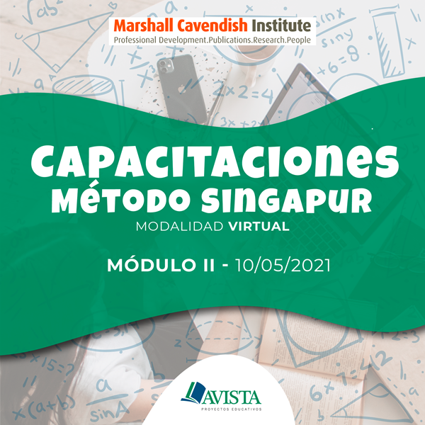 Imagen de MÓDULO II CAPACITACIÓN MÉTODO SINGAPUR