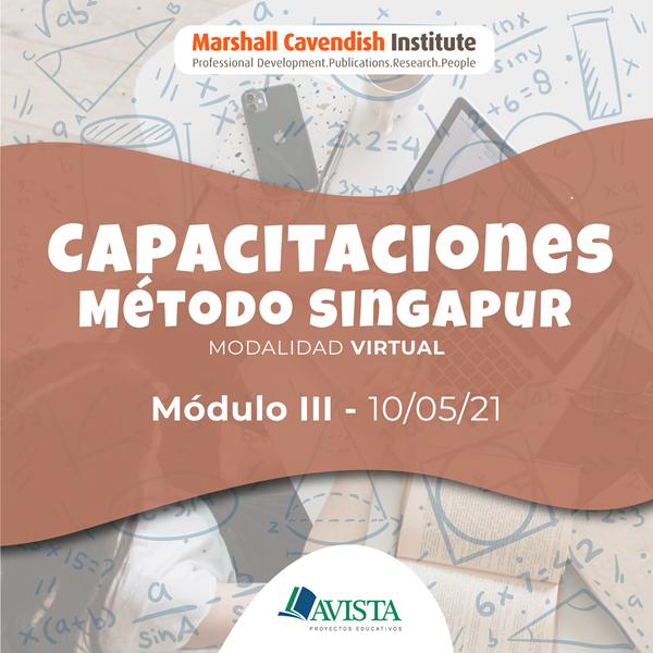 Imagen de MÓDULO III CAPACITACIÓN MÉTODO SINGAPUR